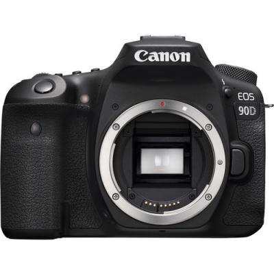 Фотоапарат Canon EOS 90D тяло + Памет SDXC SanDisk Extreme 64GB UHS-I U3 C10 V30 150MB/s + Батерия Hahnel Li-Ion HL-E6 заместител на Canon LP-E6