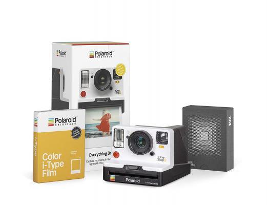 Моментален фотоапарат Polaroid OneStep 2 VF White EVERYTHING BOX - комплект