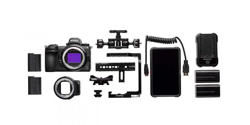 Фотоапарат Nikon Z6 тяло + преходник Nikon FTZ - Essential Movie Kit