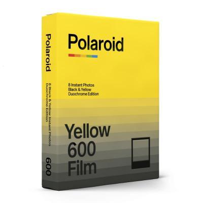 Моментален филм Polaroid 600 Black & Yellow Duochrome Edition