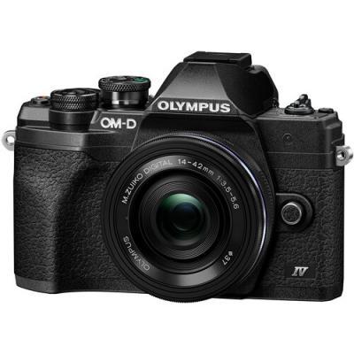 Фотоапарат Olympus OM-D E-M10 Mark IV Black + Обектив Olympus M.Zuiko Digital ED 14-42mm f/3.5-5.6 EZ