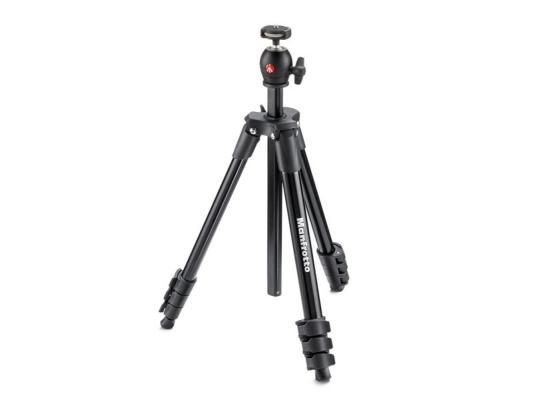 Статив с ябълковидна глава Manfrotto Compact Light (Black)