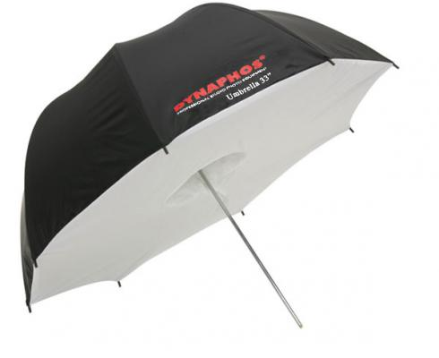 Бял отражателен бокс-чадър Dynahos 91 см