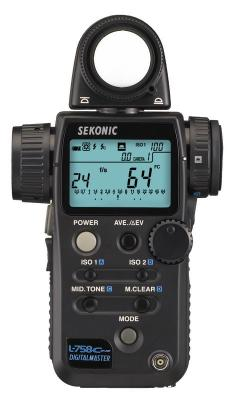 Светломер Sekonic L-758Cine DigitalMaster