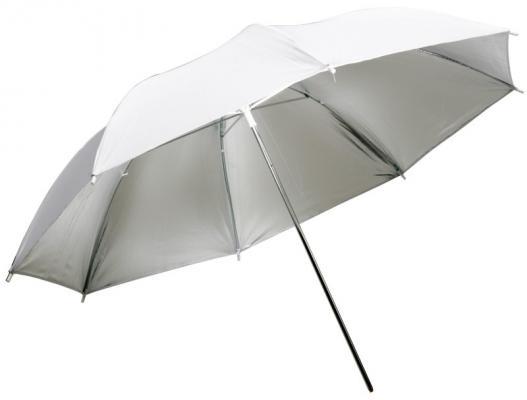 Сребрист отражателен чадър Dynaphos 85 см