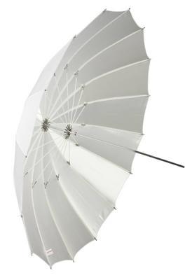 Бял дифузен чадър Dynaphos Fibro 105 см