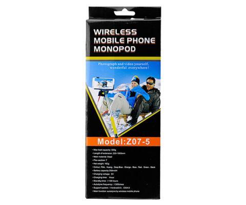 Пръчка за Селфи с Bluetooth Z07-5