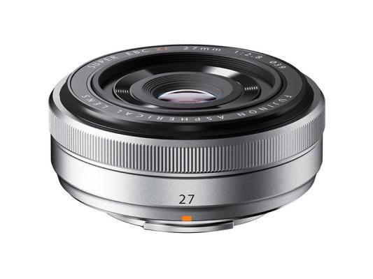 Обектив Fujifilm Fujinon XF 27mm F/2.8 Silver