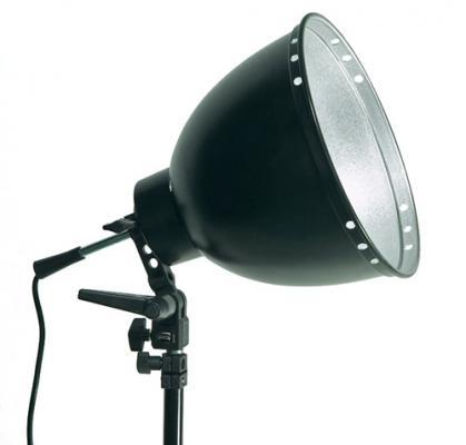 Комплект Dynaphos - стойка за чадър, рефлектор 30 см, фасунга
