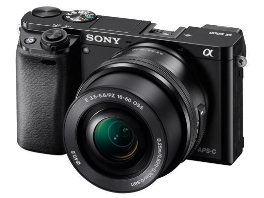 Фотоапарат Sony Alpha A6000 Black Kit (16-50mm OSS)