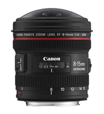 Обектив Canon Fisheye  EF 8-15mm f/4 L USM