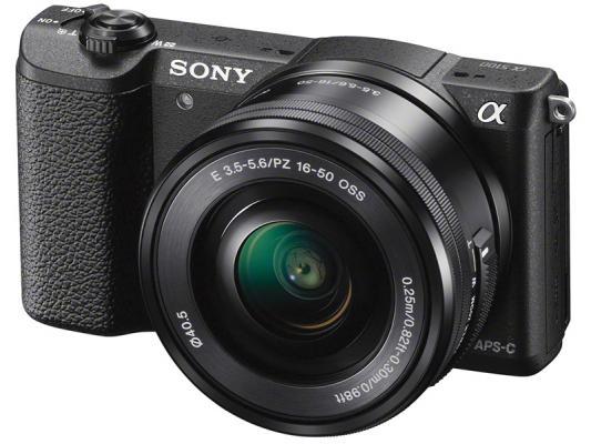 Фотоапарат Sony Alpha A5100 Black Kit (16-50mm OSS) + Памет SDHC SanDisk Extreme 32GB UHS-I V30 (U3) 90MB