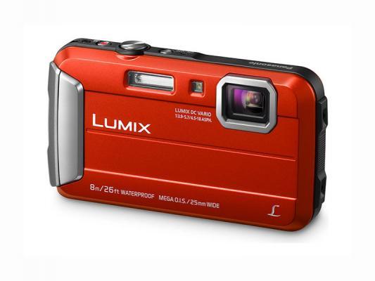 Фотоапарат Panasonic Lumix DMC-FT30 Red