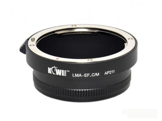 Адаптер KIWIfotos Canon EOS - Canon EOS M (LMA-EF_C/M)