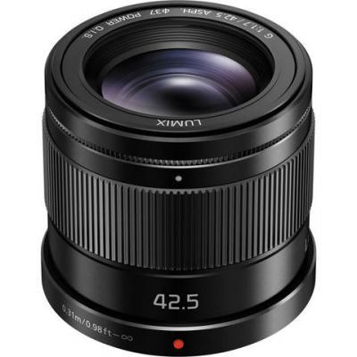 Обектив Panasonic Lumix G 42.5mm f/1.7 ASPH. /POWER O.I.S. Black