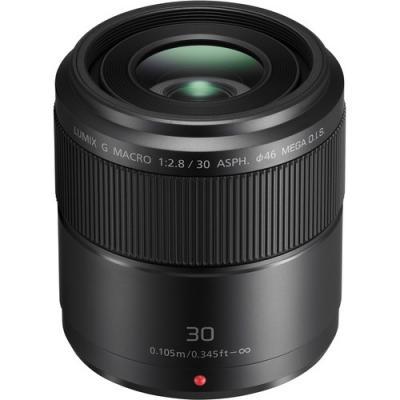 Обектив Panasonic Lumix G 30mm f/2.8 O.I.S. MACRO