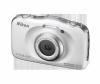 Фотоапарат Nikon Coolpix W100 Бял + раница