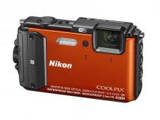Фотоапарат Nikon Coolpix AW130 Orange
