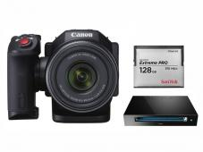 Видеокамера Canon XC10  kit (128GB Card + Reader)