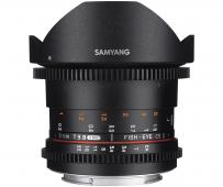Обектив Samyang 8mm T3.8 VDSLR Fisheye CS II Canon