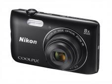 Фотоапарат Nikon Coolpix A300 Black + 8GB SD карта + Калъф Case Logic PSL-16