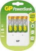 Зарядно устройство GP + Акумулаторни батерии GP 2500 mAh АА 4бр.