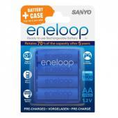 Акумулаторни батерии AA Sanyo Eneloop 1900 mAh (4бр)