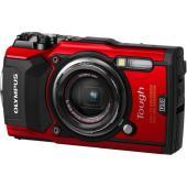 Фотоапарат Olympus TG-5 Red + Olympus CHS-09 RED HANDSTRAP (непотъваща връзка)