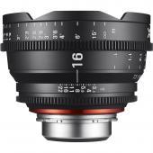 Кино обектив XEEN 16mm T2.6 за Canon