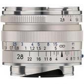 Обектив Zeiss Biogon T* 28mm f/2.8 ZM за Leica M (сребрист)