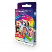 "Моментален филм Polaroid ZINK Paper Rainbow 2x3"" 20л."