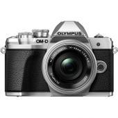 Фотоапарат Olympus OM-D E-M10 Mark III Silver тяло + Обектив Olympus M.Zuiko Digital ED 14-42mm f/3.5-5.6 EZ