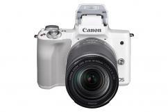 Фотоапарат Canon EOS M50 Whtie + Обектив Canon EF-M 18-150mm f/3.5-6.3 IS STM + Батерия Li-Ion Canon LP-E12