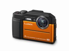 Фотоапарат Panasonic Lumix DMC-FT7 Orange + Памет SDHC SanDisk Extreme 32GB UHS-I V30 (U3) 90MB