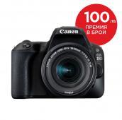 Фотоапарат Canon EOS 200D Black тяло + Обектив Canon EF-S 18-55mm f4-5.6 IS STM