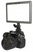 Диодно LED осветление Ledgo LG-E116C II Bi-color + Държач за светкавица Visico M11-052
