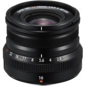 Обектив Fujifilm XF-16mm f/2.8 R WR Black
