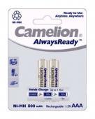 Акумулаторни батерии AAA Camelion AlwaysReady 800mAh (LR03) 2бр