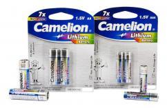 Алкални батерии AAA Camelion Lithium (LR03) 2бр