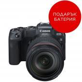 Фотоапарат Canon EOS RP тяло + Адаптер Canon EF-EOS R + Батерия Li-Ion Canon LP-E17