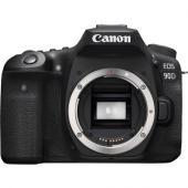 Фотоапарат Canon EOS 90D тяло + Обектив Tokina atx-i 100mm f/2.8 FF Macro за Canon