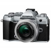 Фотоапарат Olympus OM-D E-M5 Mark III Silver + обектив Olympus ZD Micro 14-42mm f/3.5-5.6 EZ ED MSC