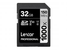 Памет SDHC Lexar Professional 32GB UHS-II U3 C10 V30 150MB/s