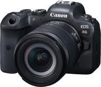 Фотоапарат Canon EOS R6 тяло + Обектив Canon RF 24-105mm f/4-7.1 IS SТM