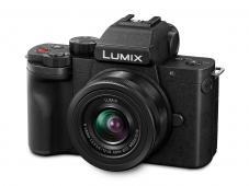 Фотоапарат Panasonic Lumix DC-G100 + Обектив Lumix G-VARIO 12-32mm f/3.5-5.6 ASPH. MEGA O.I.S. + Батерия Li-Ion Panasonic DMW-BLG10E (Bulk)