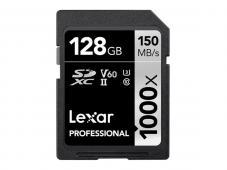 Памет SDXC Lexar Professional 128GB UHS-II U3 C10 V60 150MB/s