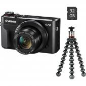 Фотоапарат Canon PowerShot G7X Mark II Vlogger Kit + Батерия Li-Ion Canon NB-13L