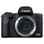 Фотоапарат Canon EOS M50 Mark II Black Тяло + Батерия Li-Ion Canon LP-E12