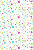 Хартиен фон Creativity Ella Bella Multi Coloured Dots 1.22 x 3.6 м