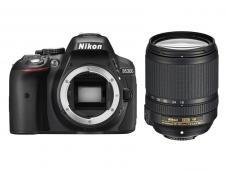 Фотоапарат Nikon D5300 Black тяло + Обектив Nikon AF-S DX Nikkor 18-140mm f/3.5-5.6G ED VR + Комплект Nikon DSLR Kit (CF-EU11 Bag + 32GB SD)